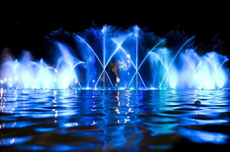 Salou fountains