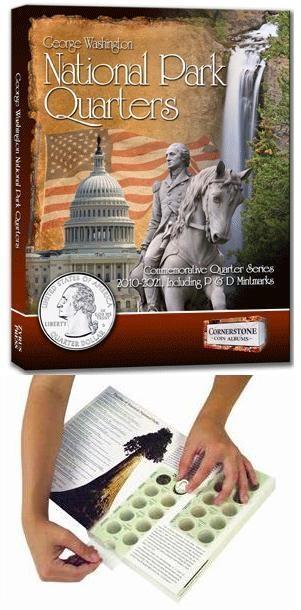 National Park Quarters Collecting Adventure Kit