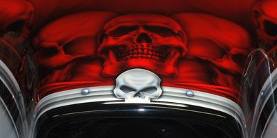 2013 Harley Street Glide Skulled Out Wille G Style