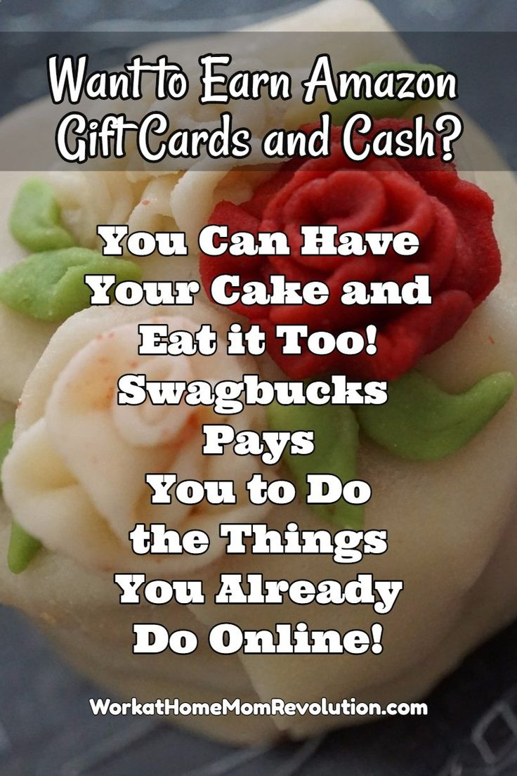 Wan to earn gift cards to Amazon, Starbucks, Best Buy, and more of your favorites? Swagbucks pays you gift cards and cash to do the things you already do online! Get paid to surf, watch videos, play games, take surveys! Awesome extra cash opportunity!