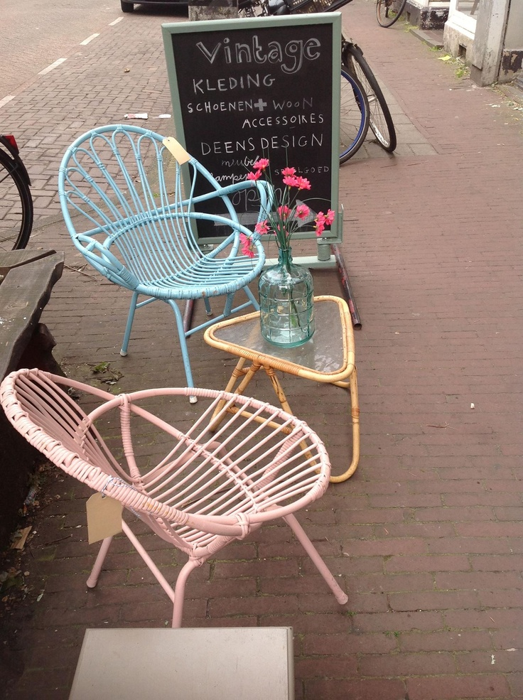 """Cool streetside vignette courtesy of """"All the Luck in the World"""""""