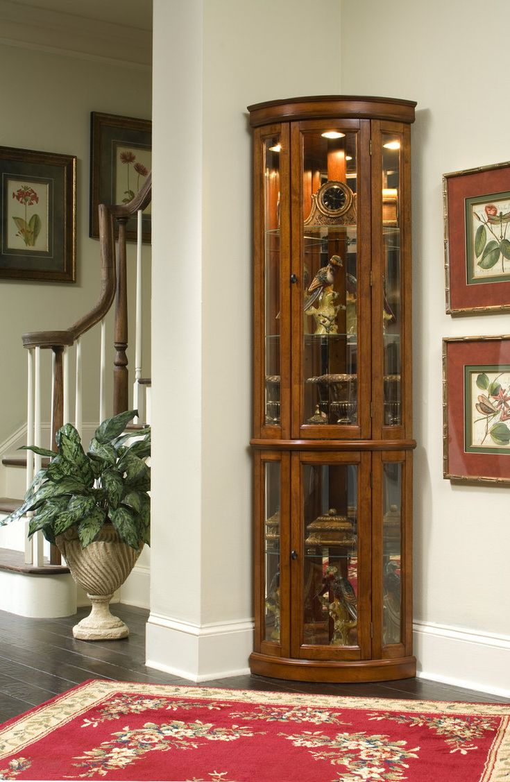17 Best Images About Curio Cabinets On Pinterest