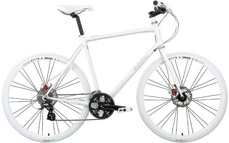 Φιδούσα - Σκελετός από Cr-Mo Columbus για ένα σύγχρονο ελαφρύ ποδήλατο πόλης.