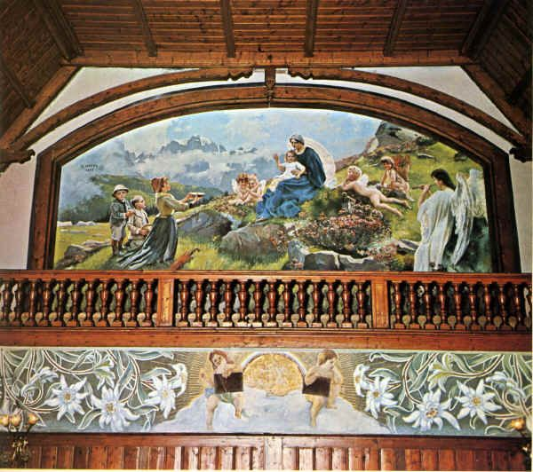 """Madonna di Campiglio (Trento, Italia) - Hotel Des Alpes - """"La Madonna di…"""