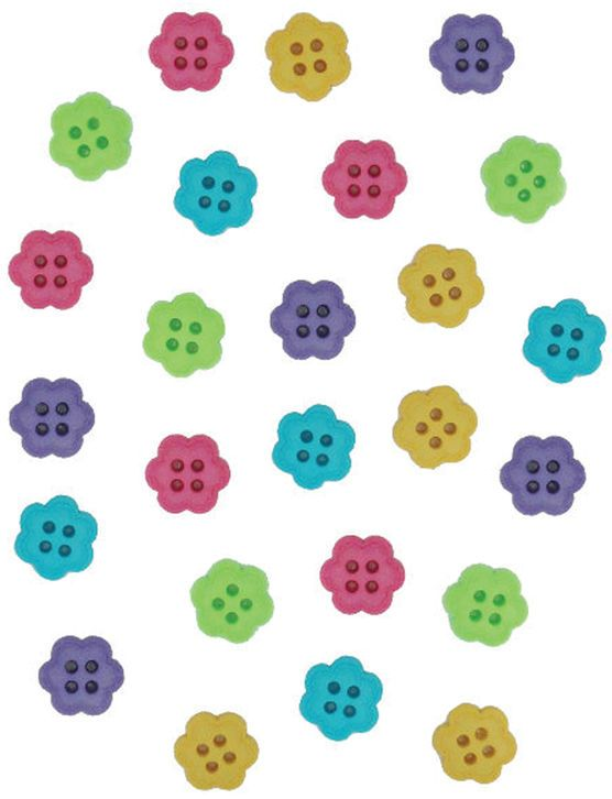 Dress It Up Embellishments-Flower Candy