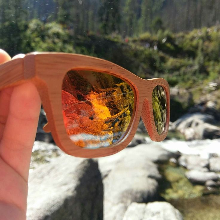 Bamboo sunglasses on a hike. Yet another beautiful fan photo, thanks for all the support.