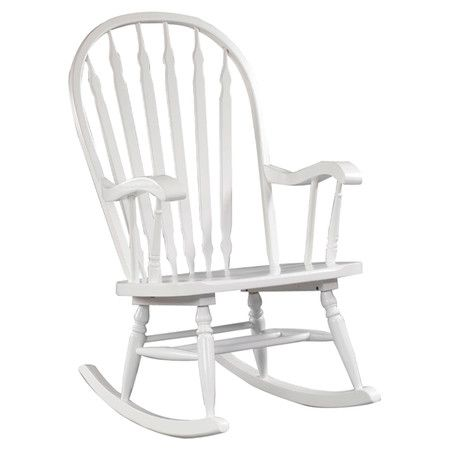 ... Rocking Chair in White  Ideas for the House  Pinterest  Rocking
