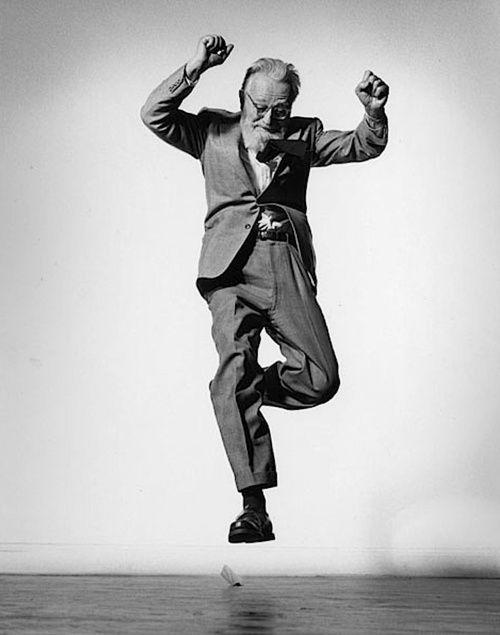 Edward Steichen, 1955 By Philip Halsman