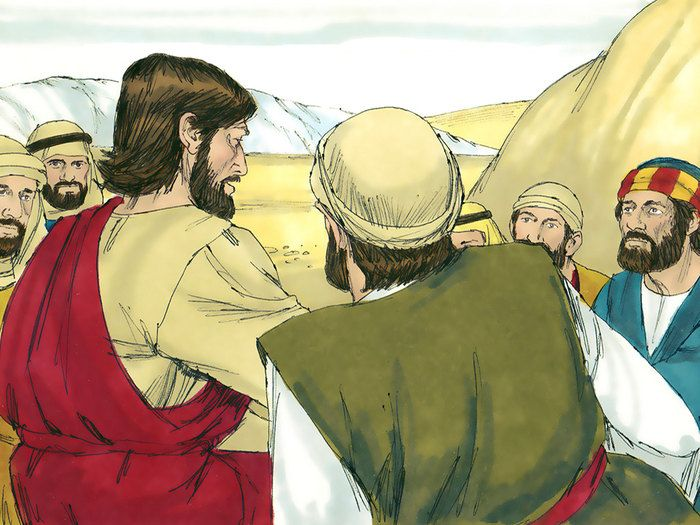 A parable about three servants left to invest their master's money. (Matthew 25:14-30): Slide 13