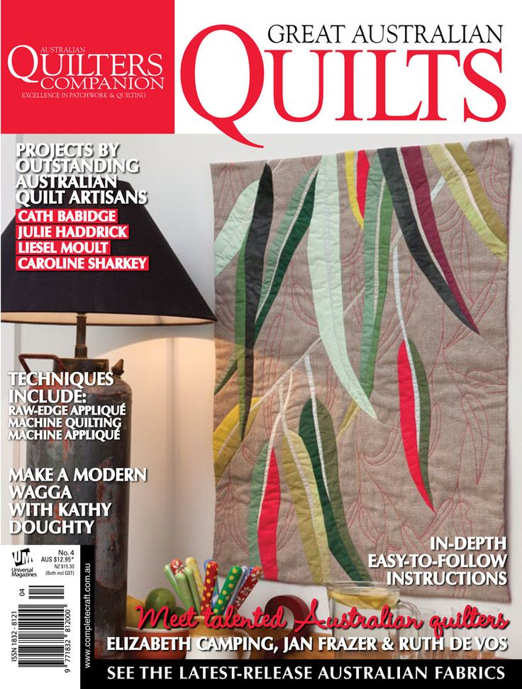 Great Australian Quilters #4 cover