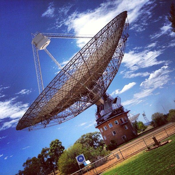 CSIRO Parkes Radio Telescope in Parkes, NSW