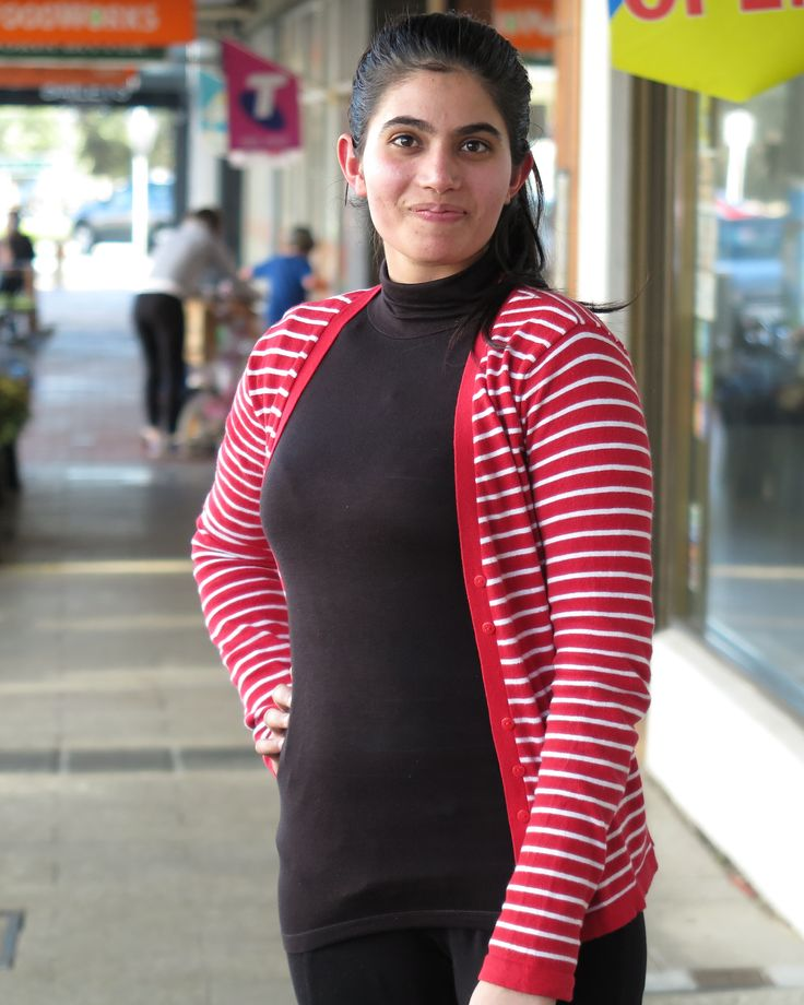 Sandringham: Parul What is most challenging in your life? I'm studying, so work with study and handling the home is very challenging for me. I love my job waitressing and I want to be a childhood educator. Photo: Chloe Booker