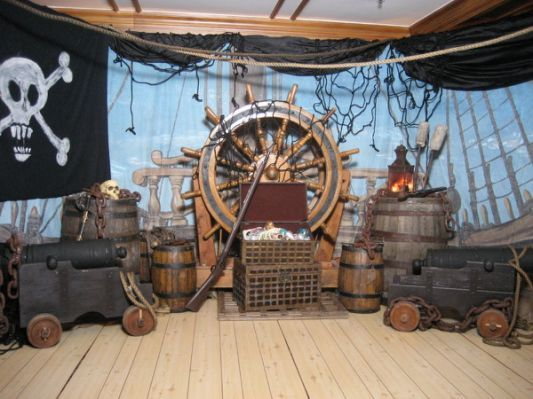 Pirate Theme Decorations http://www.firstscene.co.nz/