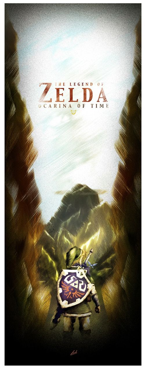 Legend of Zelda - by Luke Butland