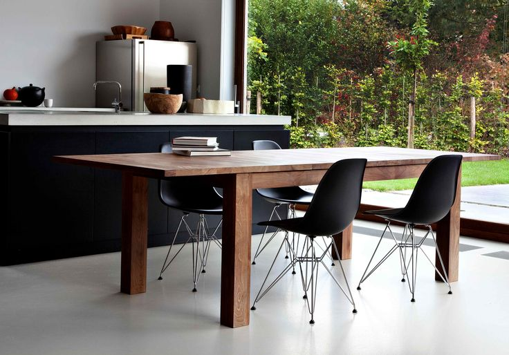 The classic, fuss-free Stretch Dining Table by Ethnicraft.