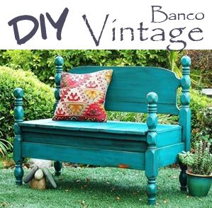 ❣ Little Kimono Handmade ❣ : DIY banco vintage