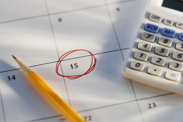 Tax Deadlines in 2014