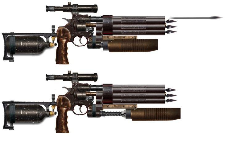 Metro+2033 Hellsing Arrow Gun