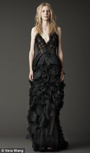 And the bride wore... black! Could sombre wedding dresses from Vera ...