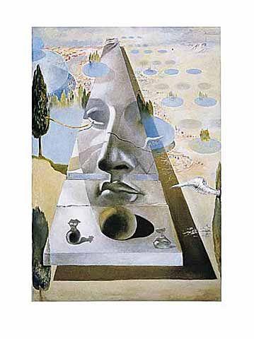 Salvador Dalí - Das Gesicht der Aphrodite von Cnida