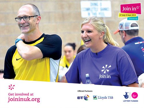 Rebecca Adlington came along to Stockport's Stalybridge swimming pool for the Join In Summer 2013. The coaches loved having her help them train the children for a great of fun in the pool.