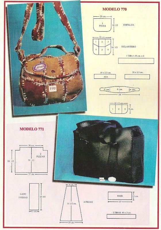 DE MIS MANOS TEJIDOS Y MAS...: Modelos de bolsos y carteras en gamuza y crochet