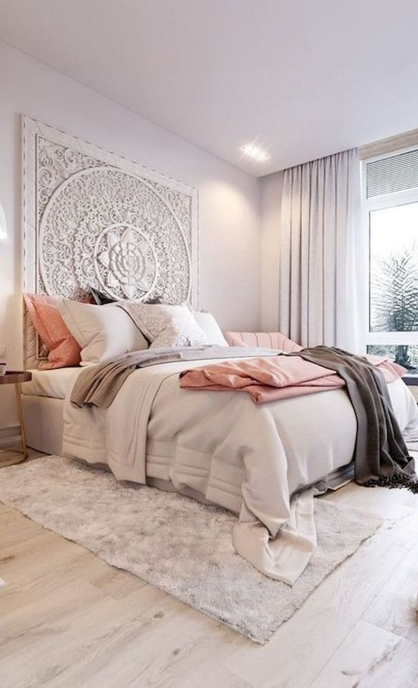57 New Trend And Modern Bedroom Design Ideas For 2020 Part 30 Boho Style Bedroom Decor Bedroom Design Bedroom Decor