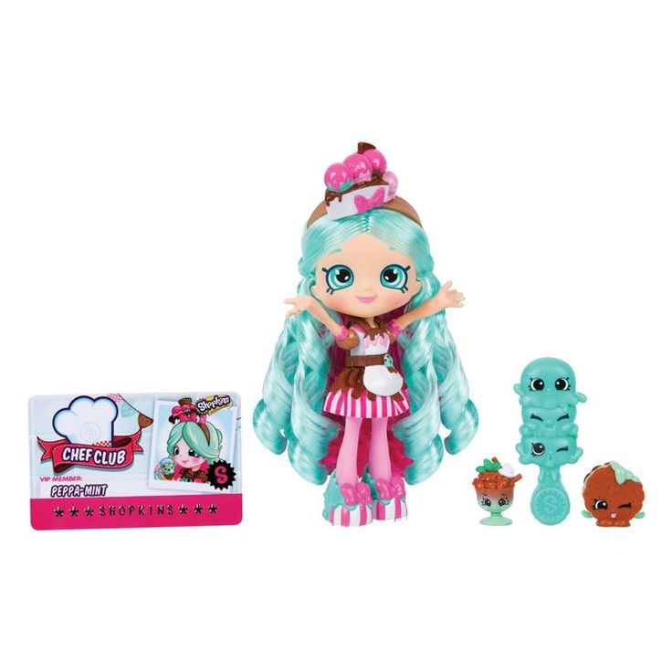 Shopkins Shoppies Chef Club Dolls - Peppamint image-0
