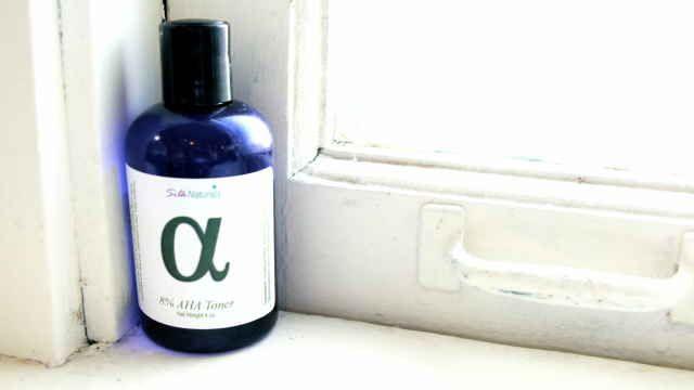 The Best Lactic Acid Products At budget. Silk Naturals 8% AHA