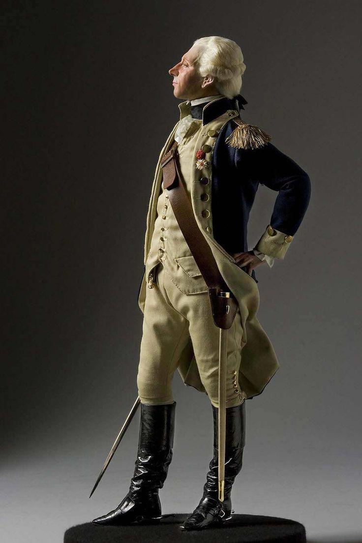 Full Length Color Image Of Marquis De Lafayette Aka Lafayette, By George  Stuart