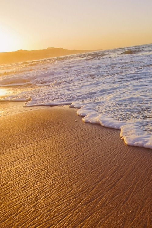 """wolverxne: """" Sunset Wave ~ by: Alex Bramwell """""""