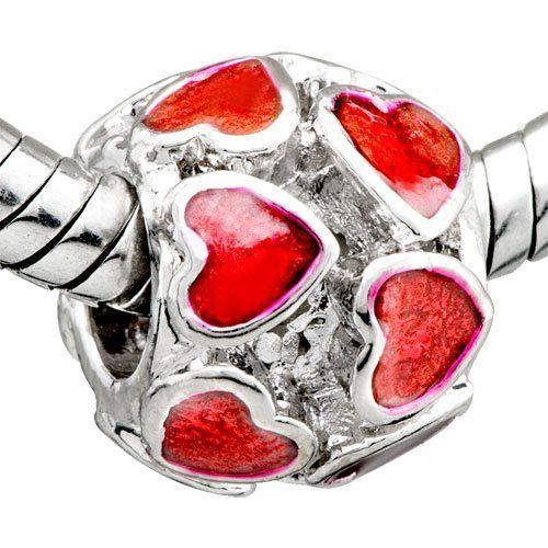 Pugster Six Point Star Dangle European Beads Fit Pandora Chamilia Biagi Charm Bracelet 22U7iaXa