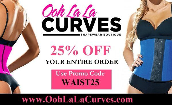 TAKE 25% OFF ENTIRE ORDER!!!! Use code WAIST25 at checkout until Monday at www.oohlalacurves.com.  . . #waisttraining #waistcincher #excercise #shapewear #waistcincher #workout #corset #kimkardashian #oohlalacurves #healthyeating #fit #postpartum #fitnessmodel #smallwaist #fitnessaddict #fitnessmotivation #hourglassfigure #corset #waisted