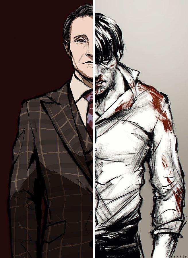 Hannibal Fan Art by feredir / Dr.Lecter