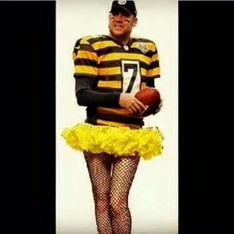The new Steelers  uniform!  Lol!!
