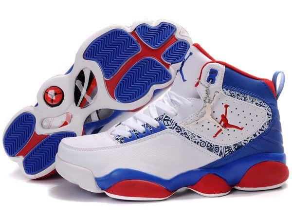 Discount 2012 Nike Air Jordan 13 Retro Men Shoes White Blue Red Cool | Womens Nike