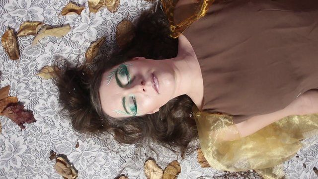 A 5 minute research film, practising, greenscreen, set design and overall making a fantasy film.  Inspired by 3 fairy poems, we wrote a script that would use symbolism and visual imagery to tell our story.  The film follows a new born fairy, discovering her personality through a field of flowers. The Daisies give her innocence, the bluebells show her loyalty and the tulips reveal her royalty, giving her a crown. She see's her reflection for the first time, enchanted by herself she ...
