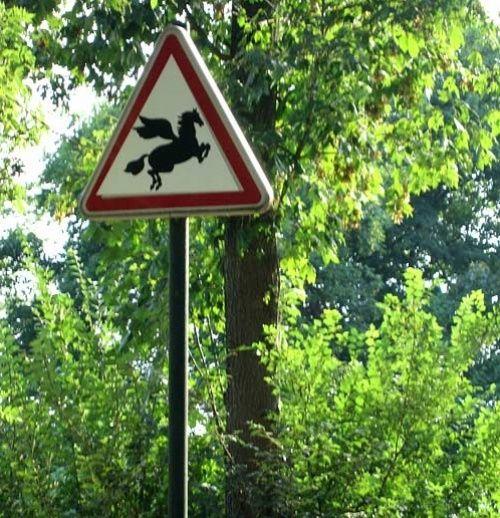 Странные дорожные знаки и указатели - Вдохновение