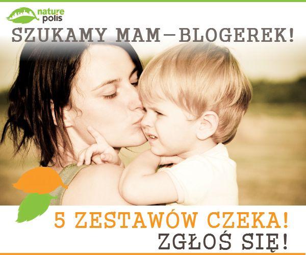 """Jesteś lub znasz MAMĘ-BLOGERKĘ, która interesuje się tematyką eko? Odezwijcie się do nas :) Mamy dla Was ZESTAWY KOSMETYKÓW do przetestowania :) Zgłaszajcie się pod adresem: sklep@naturepolis.pl (w temacie wpisujcie """"mama - blogerka""""). Napiszcie krótko dlaczego zainteresowała Was ta tematyka a my wśród najciekawszych odpowiedzi wybierzemy pięć z Was :) Ciekawe odpowiedzi wrzucimy też na nasz profil FB. Zapraszamy :) http://www.naturepolis.pl/pl/"""