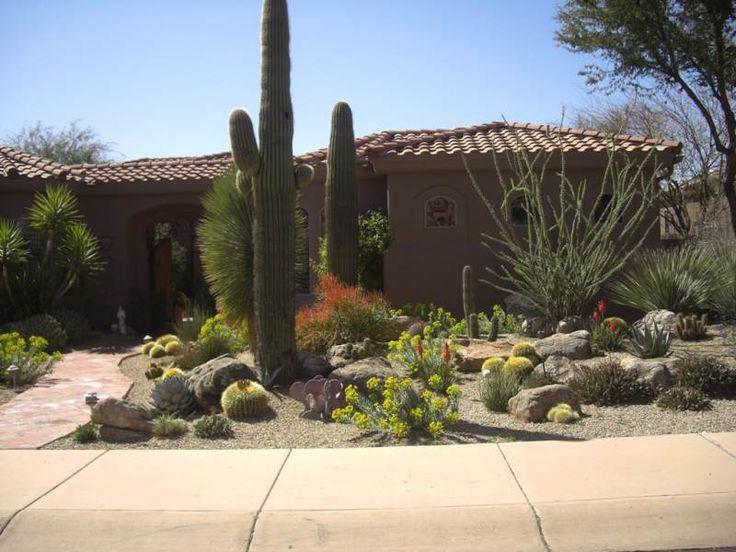Desert Landscaping Ideas Xeriscape Landscaping Desert Landscape Design Desert Landscaping