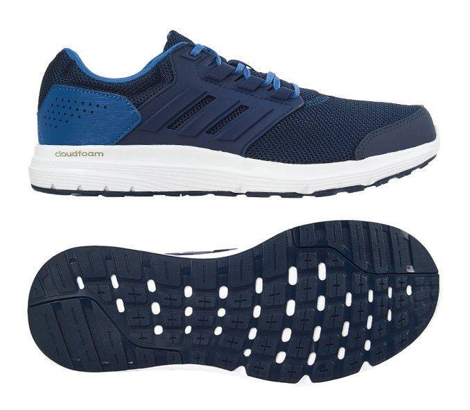 Adidas Men Running Shoes Galaxy 4 Training Cloudfoam