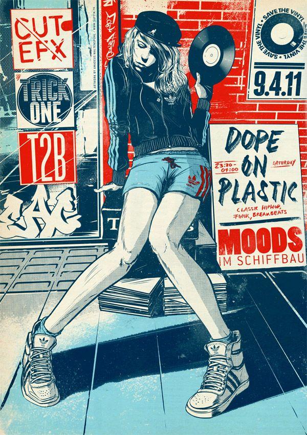 Los versátiles carteles de Suffix #poster #music