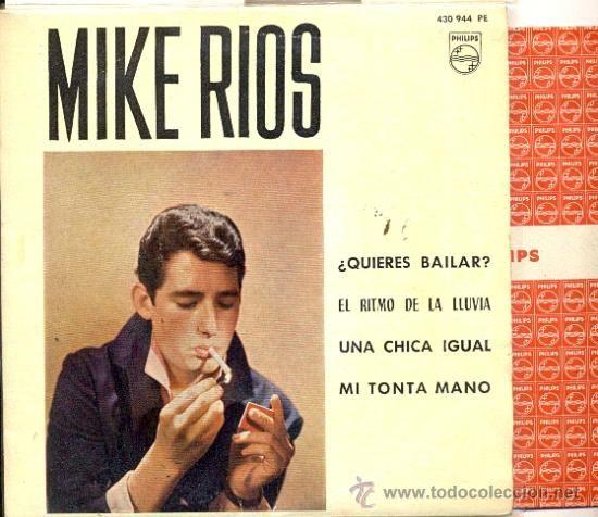 Quieres bailar? [Grabación sonora] / Mike Ríos.-- [Madrid] : [Fonogram], DL 1963.  1GS/M/91