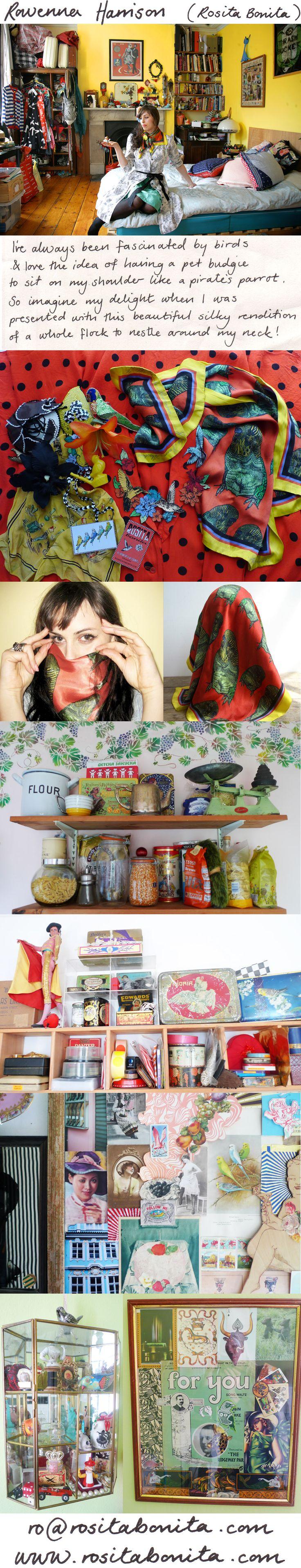 Silken Favours :: Rowenna Harrison