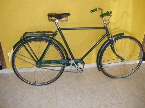 rara bicicleta raleigh década de 50 restaurada no original!