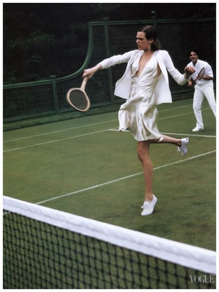 Elise Crombez Photo Arthur Elgort for Vogue US November 2003