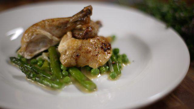 James Martin S Roast Chicken Recipe Recipe Spring Vegetables Recipes Chicken Recipes Roast Chicken