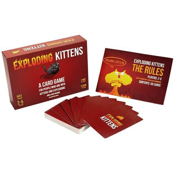 Exploding Kittens - Tabletop Haven
