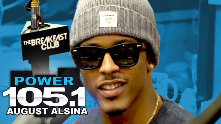 August Alsina Interview at The Breakfast Club Power 105.1