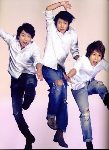 Sho, Aiba, Nino, #Arashi